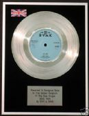"SAM AND DAVE - 7"" Platinum Disc - SOUL MAN"